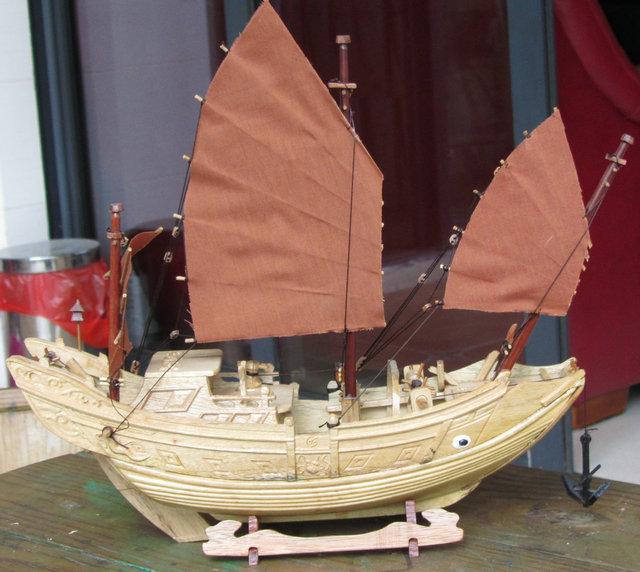 木船模型【中1】