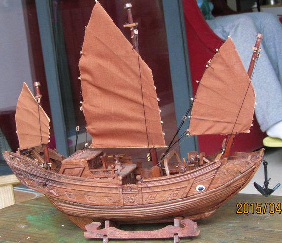 木船模型【小2】