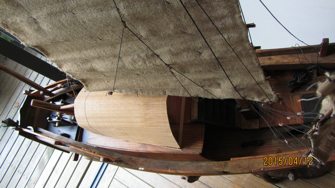 木船模型【中2】