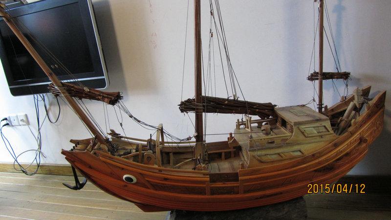木船模型【中3】