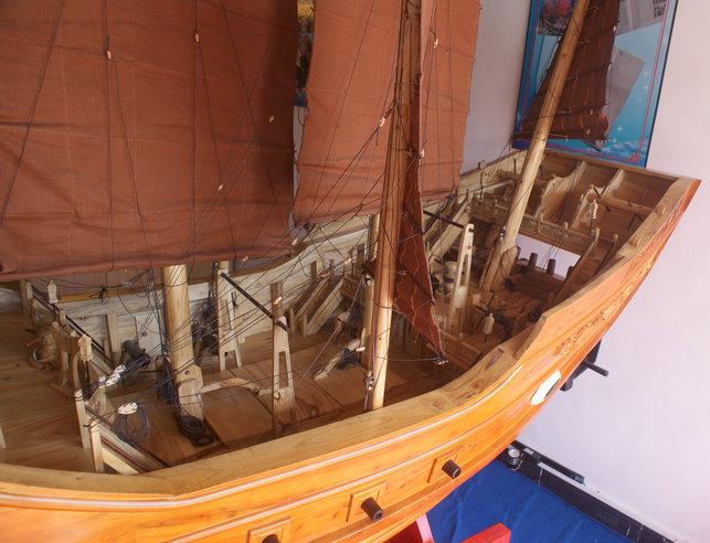 木船模型【大1】